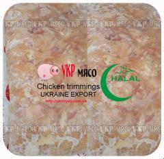 Chicken trimmings EXPORT (UkrMyso)