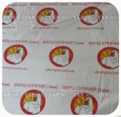 Forcemeat chicken (3 mm of Ukrmyaso)