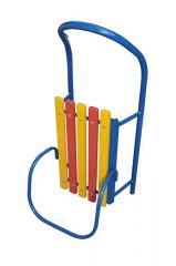 Детские санки с трубки, крашеные полимером в Украине, Купить, Цена, Фото