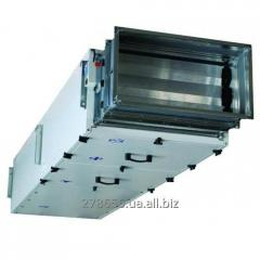 Installation ventilating average productivity of