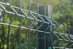 Панельный секционный забор из сварной сетки