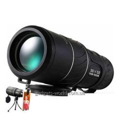 Compact monocular 10х52 from 10 multiple approach