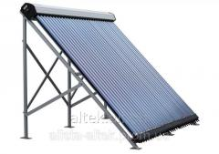 The heliosystem is all-weather: Solar vacuum