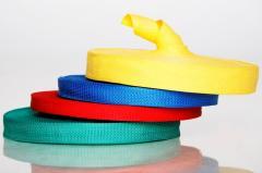 Tape belt (haberdashery): sumochny, ryukzachny,