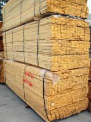 Timber is cut. Sale of dry timber across Kiev,