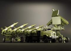 The modernized surface-to-air missile S-125-2D