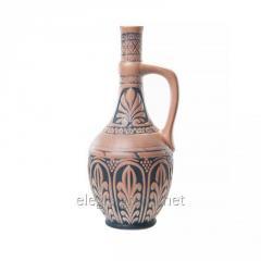 Botella de cerámica decorativa 'motivo de Georgia'