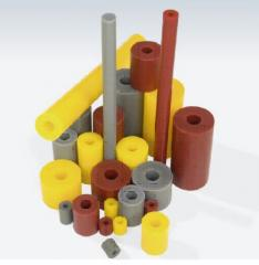 Springs from polyurethane for molding and press