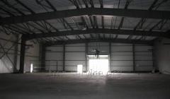 Hangars, arch metalwork