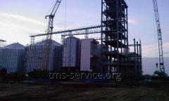 Combined metal constructions