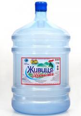 """Питьевая вода в бутылях """"Живица Шаянская"""""""