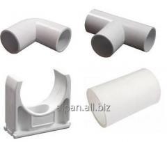 Аксессуары для гладкой трубы - Муфта соединительная для трубы d16