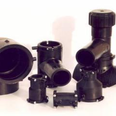 Терморезисторные фитинги: муфты, отводы, тройники,