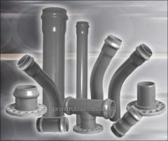 PVC pressure head pipes