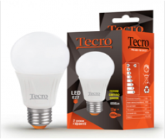 LED lamp of Tecro PRO-A60-11W-3K-E27