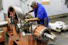 Repair and replacement of spare parts of