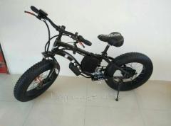 Электровелосипед LKS Fatbike Детский Electro...