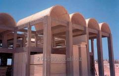 Arch from 3D - panels