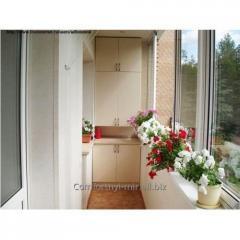 Block of standard balcony 1900х2150 mm, Green