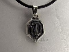 Silver pendent World of tanks (World of Tanks,