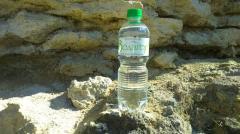Water bottled drinking
