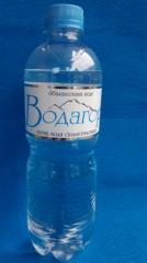 Вода сильногазированная