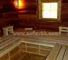 Bath from laminated board