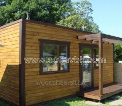 Bâtiments modulaires, mobiles, vestiaires-douches-salle d'hygiène, wagonnets à usage professionnel