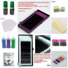 Materials for eyelashes Nagaraku, Nana