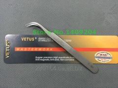 Tweezers for classical eyelash extension of VETUS