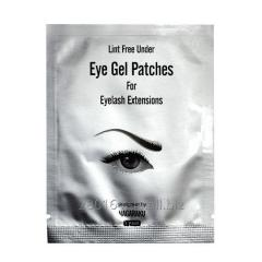 Lint-free gel patches for Nagaraku eyelashes