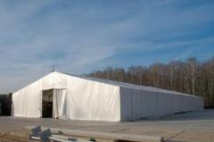 Designs are awning. Awnings, hangars.