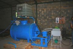 Installation for foam concrete