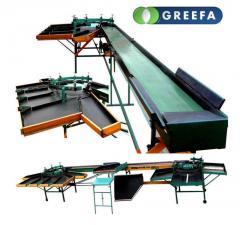 Сортировочные машины для овощей GREEFA