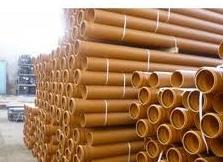 Трубы ПВХ для наружной канализации(рыжие)