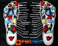 Ортопедический рефлексогенный коврик Casada...