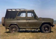 Box of gear shifting of UAZ-452 of the Art. /