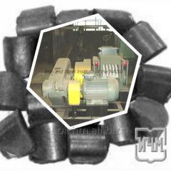 Валковый пресс для производства топливных брикетов