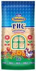 Polished long-grain rice