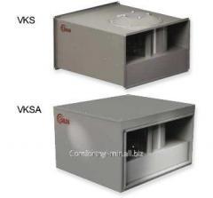 Прямоугольный канальный вентилятор Salda VKS