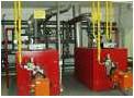 Liquid-fuel boiler rooms