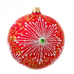Glass Christmas tree decorations