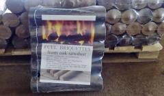 Briquettes are fuel