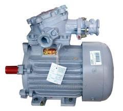 Взрывозащищенный электродвигатель АИУЛ180