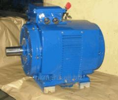 Электродвигатель специального назначения 4АЖ 225 для железнодорожного транспорта