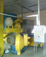Оборудование для гранулирования биомассы ОГМ-1,5
