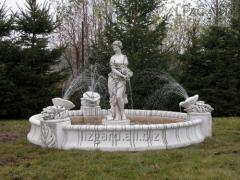 The fountain without pool *