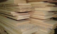 The board dry planed length is 400 cm 20х150