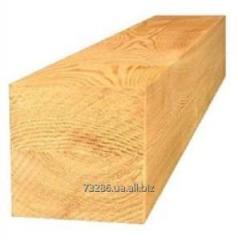 Carved pine bar
