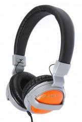 Maxxter CDM-101G Grey/Orange earphones